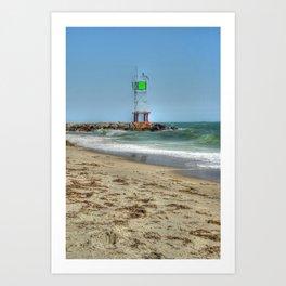 Jetty - Cape Cod Art Print