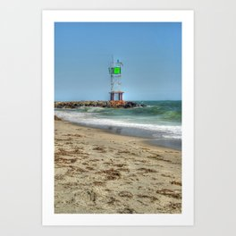 Jetty - Cape Cod Art Print