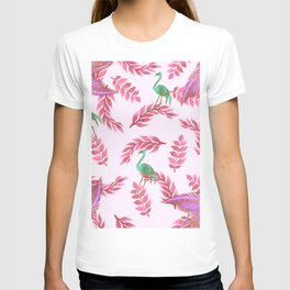 Flamingo rose T-shirt