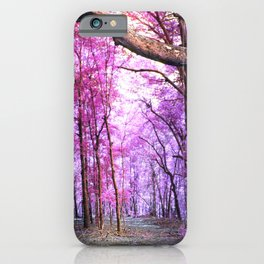 Pathway to Bliss Pink Purple iPhone Case