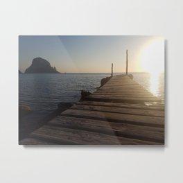 Ibizan Sunset Metal Print
