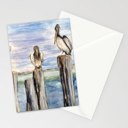 Water Cooler #pelicans #Florida  Stationery Cards