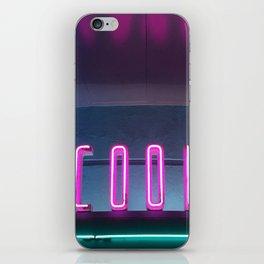 Neon COOL iPhone Skin