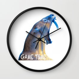 Hear Me Roar - Game Time Wall Clock