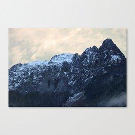 Sharp Peaks Canvas Print