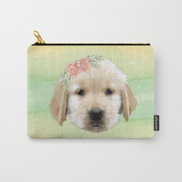Baby Golden Dog Carry-All Pouch