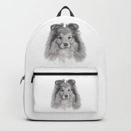 Shetland sheepdog Backpack