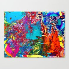 Psyched Canvas Print