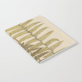 Vintage Fern Botanical Notebook