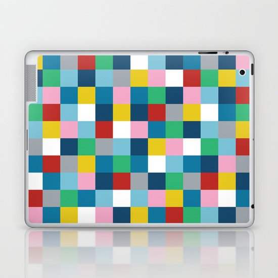 Colour Block #3 Laptop & iPad Skin