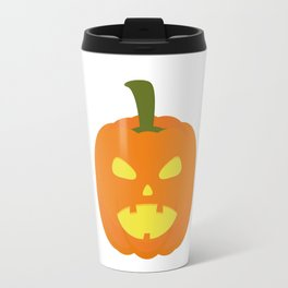 Halloween Pumpkin light Travel Mug