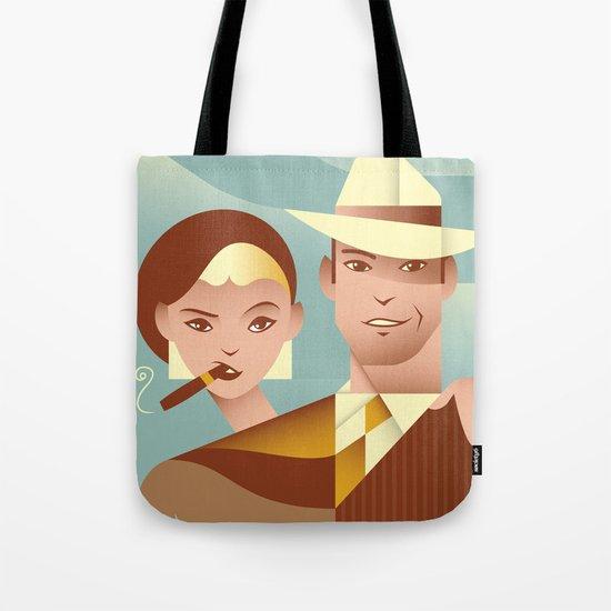 Bonnie & Clyde Tote Bag
