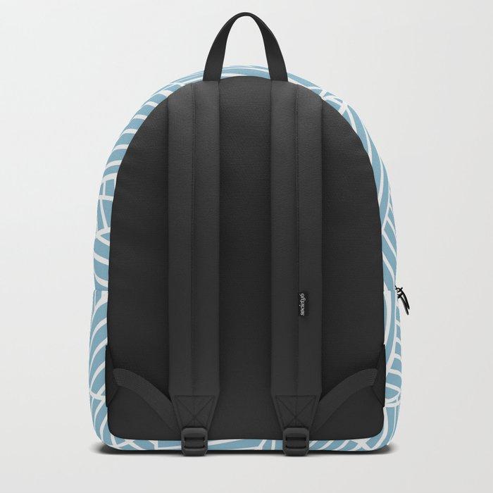 Ab Lines Sky Blue Backpack