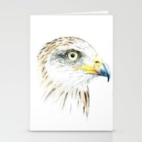 animal crew Stationery Cards featuring Animal by Andreas Derebucha