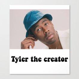 Tyler the creator cute Canvas Print