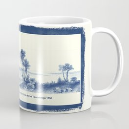 Lake Champlain 1850 (Cyanotype) Coffee Mug