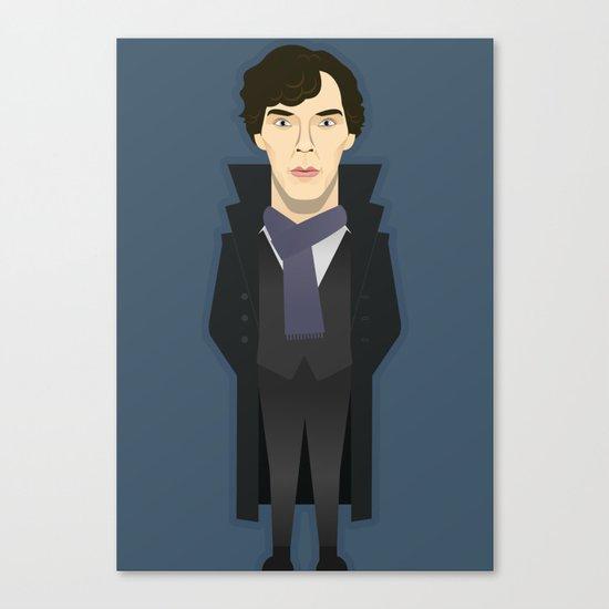 Watching The Detectives #2: Portrait Canvas Print