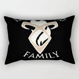 family lightwood Rectangular Pillow