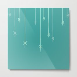 Star Lights Metal Print