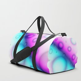 Bubbles Abstract Background G114 Duffle Bag