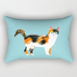 Calico Rectangular Pillow