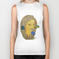 lorde Biker Tanks featuring Lorde by Montana
