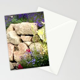 Rock Garden Stationery Cards