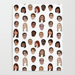 Office Pattern Poster
