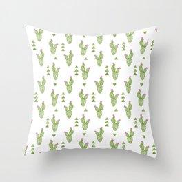 Crayon - Cactus Throw Pillow