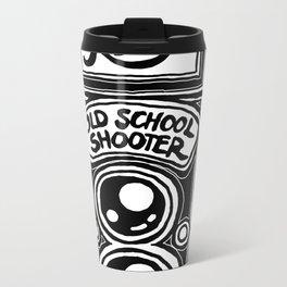 Analog Film Camera Medium Format Photography Shooter Metal Travel Mug