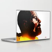 walter white Laptop & iPad Skins featuring Walter White  by ConnorEden