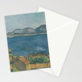 Paul Cézanne - The Bay of Marseilles Stationery Cards