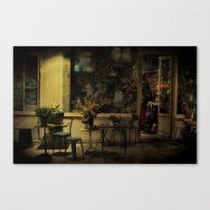 Old Curiosity Shop Paris Canvas Print