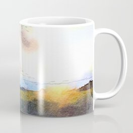 Dawn on the Road Coffee Mug
