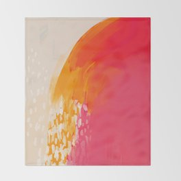 The Bright Abstract Waterfall Throw Blanket