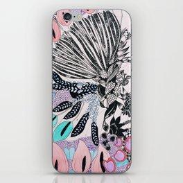 Urchin anthurium iPhone Skin
