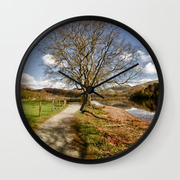 The Grasmere Tree Wall Clock