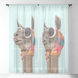 FASHION LAMA Sheer Curtain