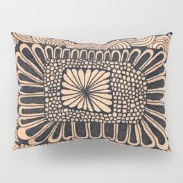 Orange Garden Pillow Sham