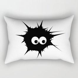 Cute monster furry Rectangular Pillow