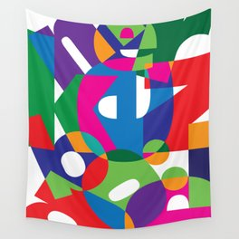 Letter land Wall Tapestry