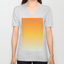 Orange Creamsicle Unisex V-Neck