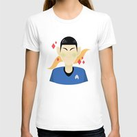 spock T-shirts featuring spock by monsternist