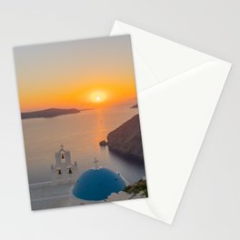 Three Bells Santorini Stationery Cards