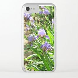 Perennial Walk Clear iPhone Case