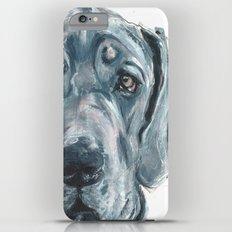 Baden // Blue Great Dane iPhone 6 Plus Slim Case