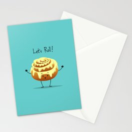 Let's Roll! Stationery Cards