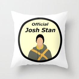 Official Josh Stan Throw Pillow