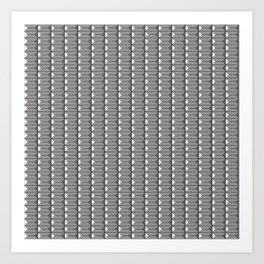 Black and White Bullion Art Print