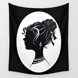 Old Fashioned Vanity Wall Tapestry